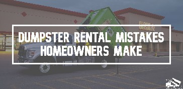 Dumpster Rentals: Rent One Near You